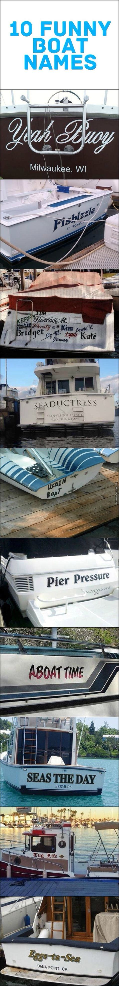 witty fishing boat names it s quot aboat time quot i posted this funny boat humor and