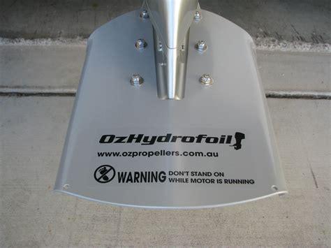 honda aluminium outboard oz hydrofoil      hp honda outboard oz hydrofoils oz