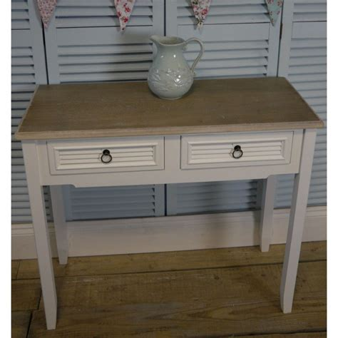 white shabby chic bedside table a pair of white vintage shabby chic two drawer bedside