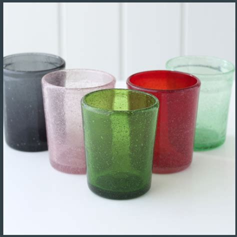 Handmade Glass Tumblers - brassica mercantile great homewares a bird