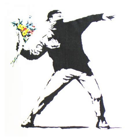 Bomber Flower by Banksy Flower Bomber Humour T Shirt Graphic Design