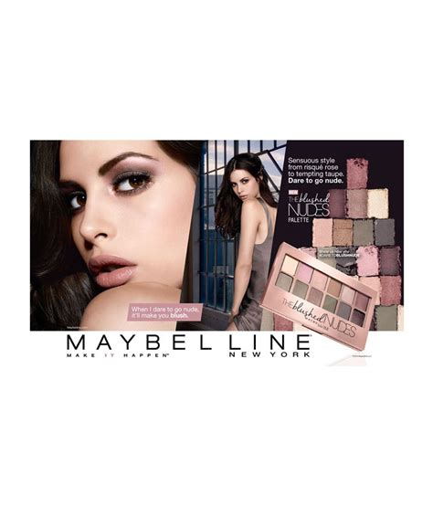 Maybelline The Blushed Palette maybelline new york the blushed palette 9 gm buy