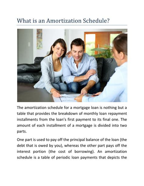 loan cost amortization code section ppt what is an amortization schedule powerpoint
