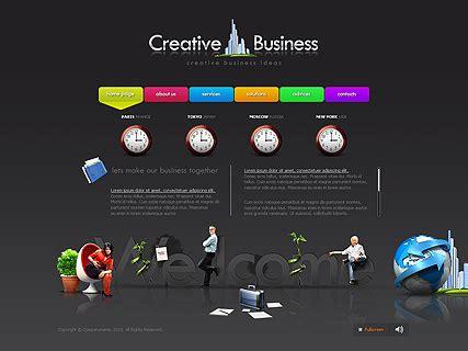 free creative website templates creative business website template free 01 15 01 21 2016
