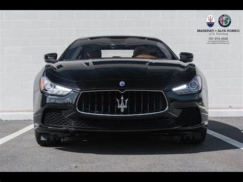 Maserati Ghibli Features by Overview 2017 Maserati Ghibli New Features Changes