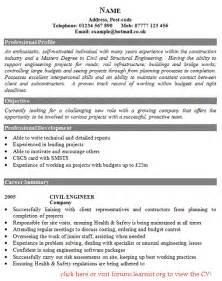 civil engineer cv exle forums learnist org