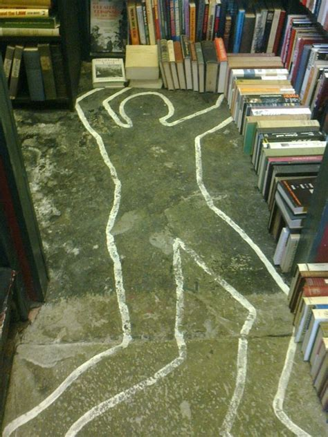 section for murder the crime section of murder mayhem bookshop in hay on