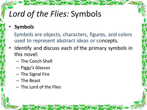 major themes of lord of the flies lord of the flies chapter notes ppt video online download