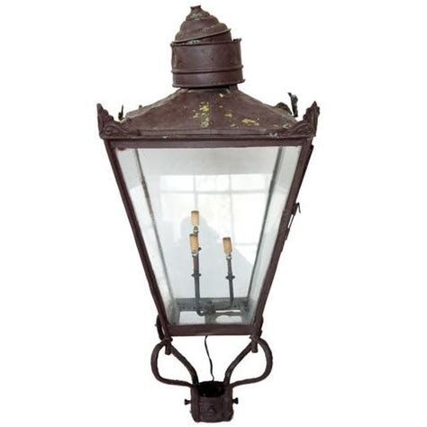 copper l post lantern antique lanterns antique lantern