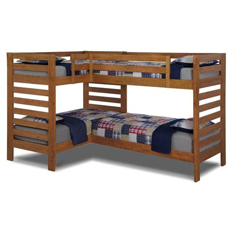 Beautiful Twin Over Full Bunk Beds For Kiddies Andreas Bunk Bed