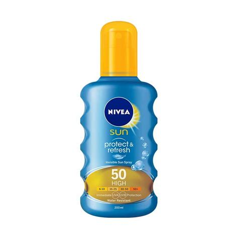 Tabir Surya Nivea jual nivea sun invisible protection transparent spray spf 50 200 ml harga kualitas