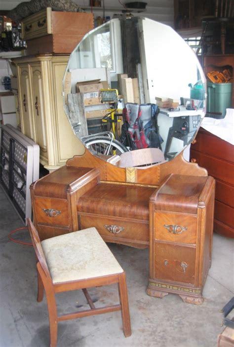 antique vanity table craigslist antique waterfall vanity antique furniture