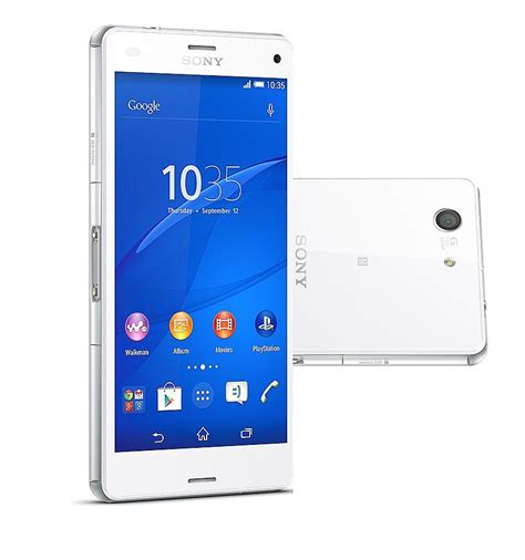 Xperia Z3 Compact White Second Original sony xperia z3 compact 3g 850mhz at t 1700mhz t mobile white unlocked import at