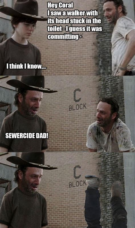 Walking Dead Rick And Carl Meme - walking dead carl meme generator image memes at relatably com