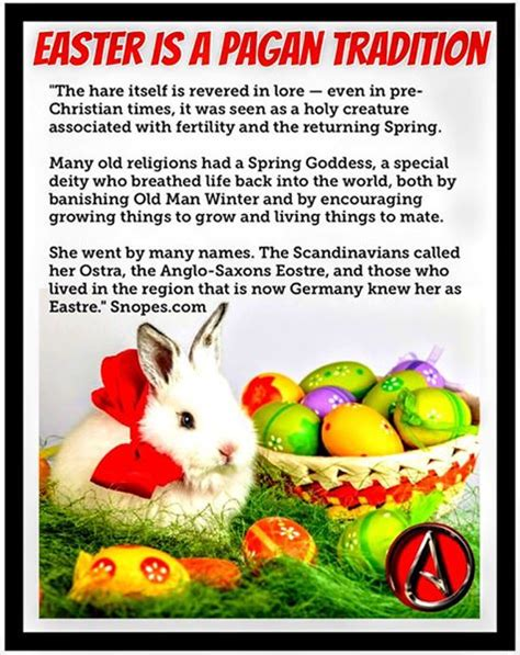 Pagan Easter Meme - history for atheists easter ishtar eostre and eggs