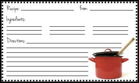 fillable recipe card template the copper coconut fillable recipe card