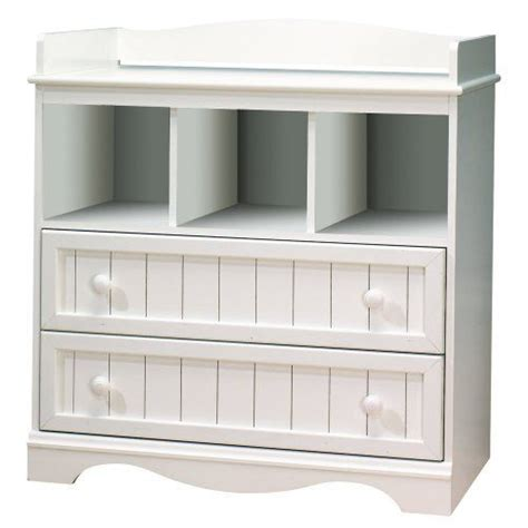 White Dresser And Changing Table by South Shore Collection White Baby Changing Table