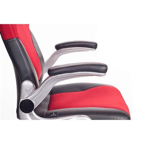 poltrona rossa poltrona ufficio ergonomica bernabeu rossa san marco