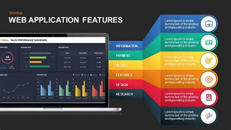 Smartphone And Web Application Services Mockup Presentation Template App Presentation Template