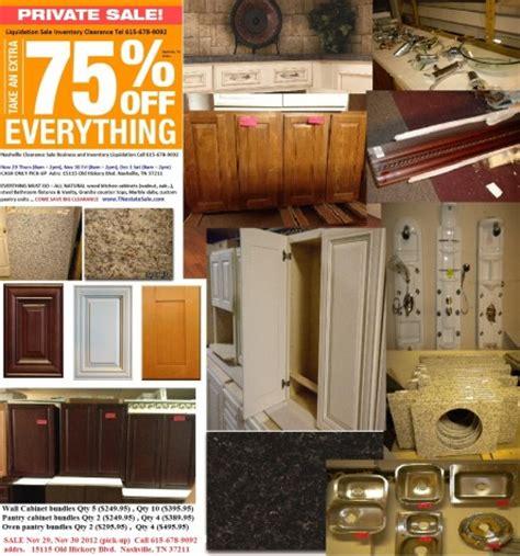 kitchen cabinet supplier nashville liquidation estate sale tennessee partners with