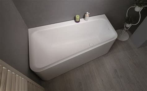Bathtub Web by Aquatica Wht Solid Surface Corner Bathtub