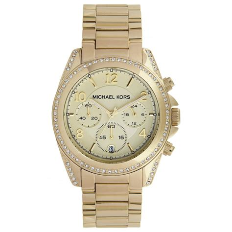 michael kors mk ladies gold  cheapest michael