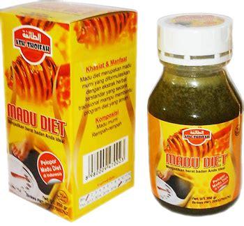 Pelangsing Nado anda ingin diet secara aman dan efektif gunakan madu diet ramuan obat tanaman herbal