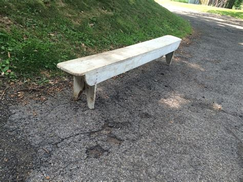 vintage wooden benches white painted antique wooden bench attainable vintage