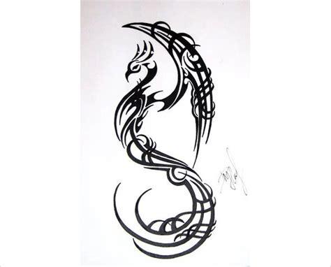 21 mind blowing phoenix bird art drawings free