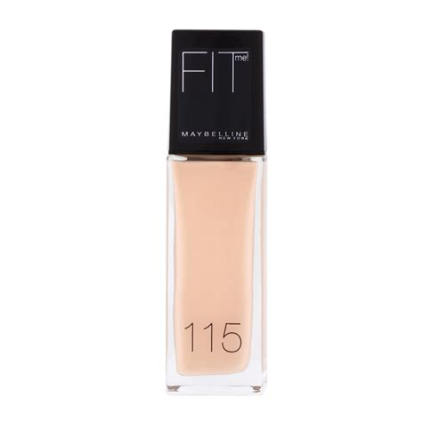 Maybelline Fit Me Liquid Foundation maybelline new york fit me liquid foundation spf 18 30ml