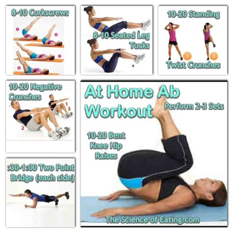 best 20 home ab workout ideas on stomach