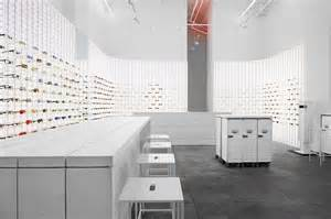 whitening shoo mykita about shop concept
