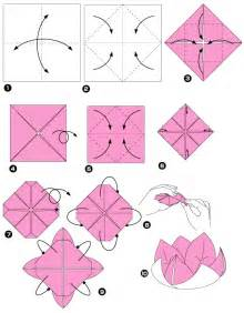 How To Origami Lotus Origami Lotus