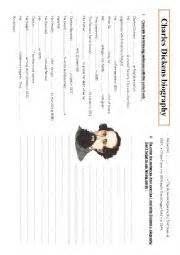 charles dickens biography lesson plan english worksheets charles dickens biography