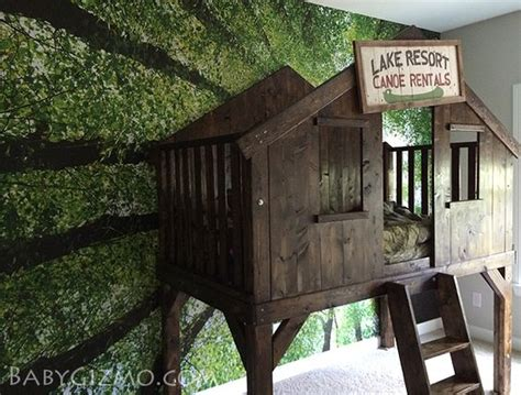 pottery barn treehouse bed a diy club house tree house bed inspired by pottery barn