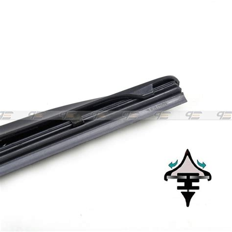 26 quot 14 quot hybrid 3 section rubber window windshield