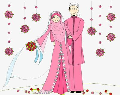 Muslim Wedding Clipart by Muslim Wedding Happy Png Image And