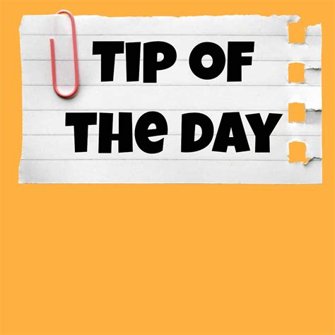 tips for day tip of the day following footprints