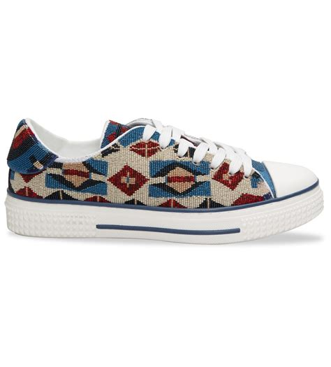 Valentino Beaded Sneaker For In Blue Lyst