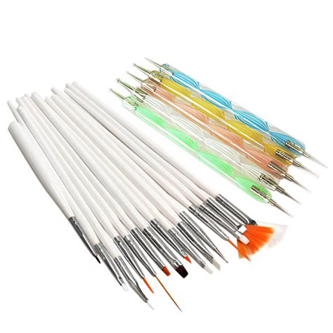 20pcs a set nail design set dotting painting drawing