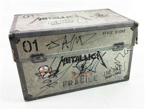 Kaos Metallica Band Live Binge N Purge Original Gildan 15 Lot Detail Metallica Signed Quot Live Sh T Binge