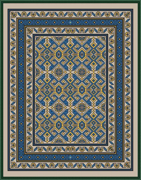 tappeti a punto croce pin di ottavio sias su tappeti alfombras bordado e