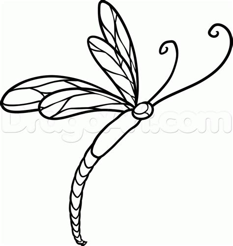 simple dragonfly tattoo designs how to draw a dragonfly step by step tattoos pop
