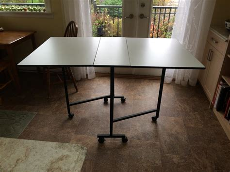 Folding Sewing Cutting Table Folding Crafting Or Sewing Cutting Table Saanich