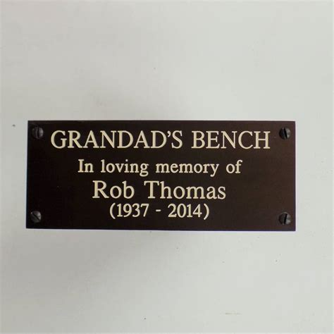 memorial bench plaques sayings memorial bench plaques sayings 28 images personalised