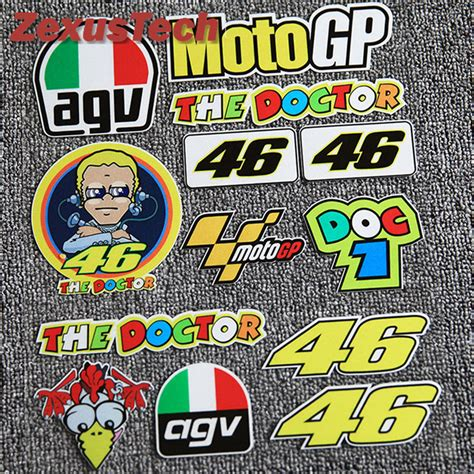 Sticker Helm Rossi by Valentino Rossi Sticker Reviews Online Shopping