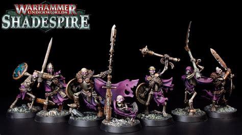 paint skeletons sepulchral guard warhammer
