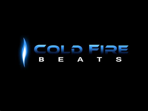 Effect Logo Design   logo design quot cold fire beats by effect design on deviantart