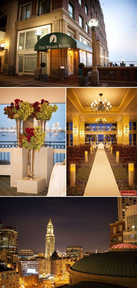 Boston Harbor Hotel Wedding Photography