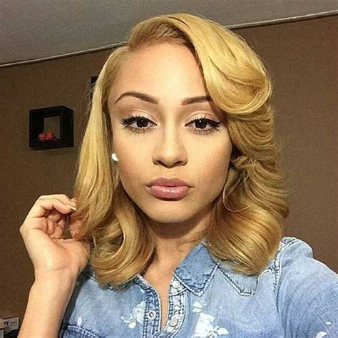 a sophisticated weave fir a older african american women 15 bobs for black girls bob hairstyles 2017 short